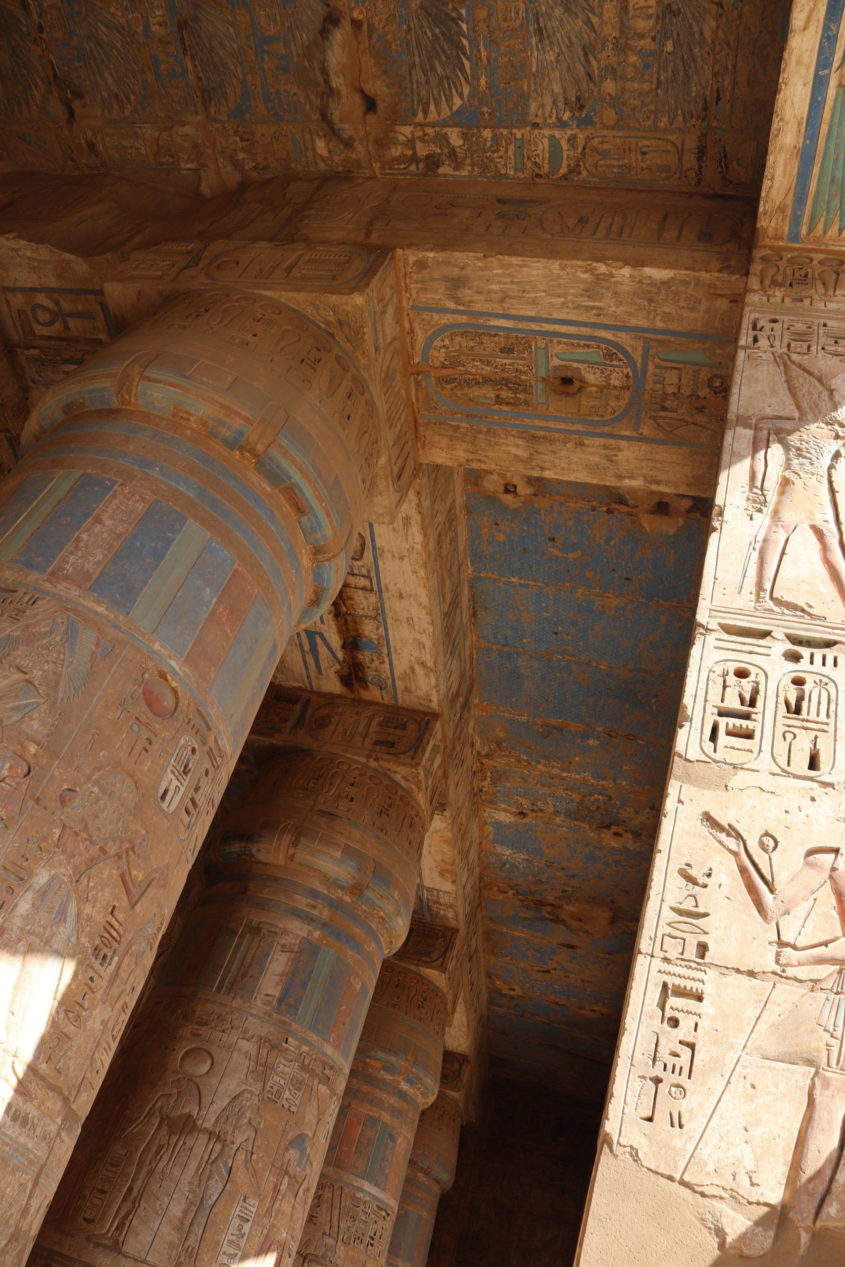 Antiguo Egipto - Templo de Ramsés III en Medinet Habu - Egiptología