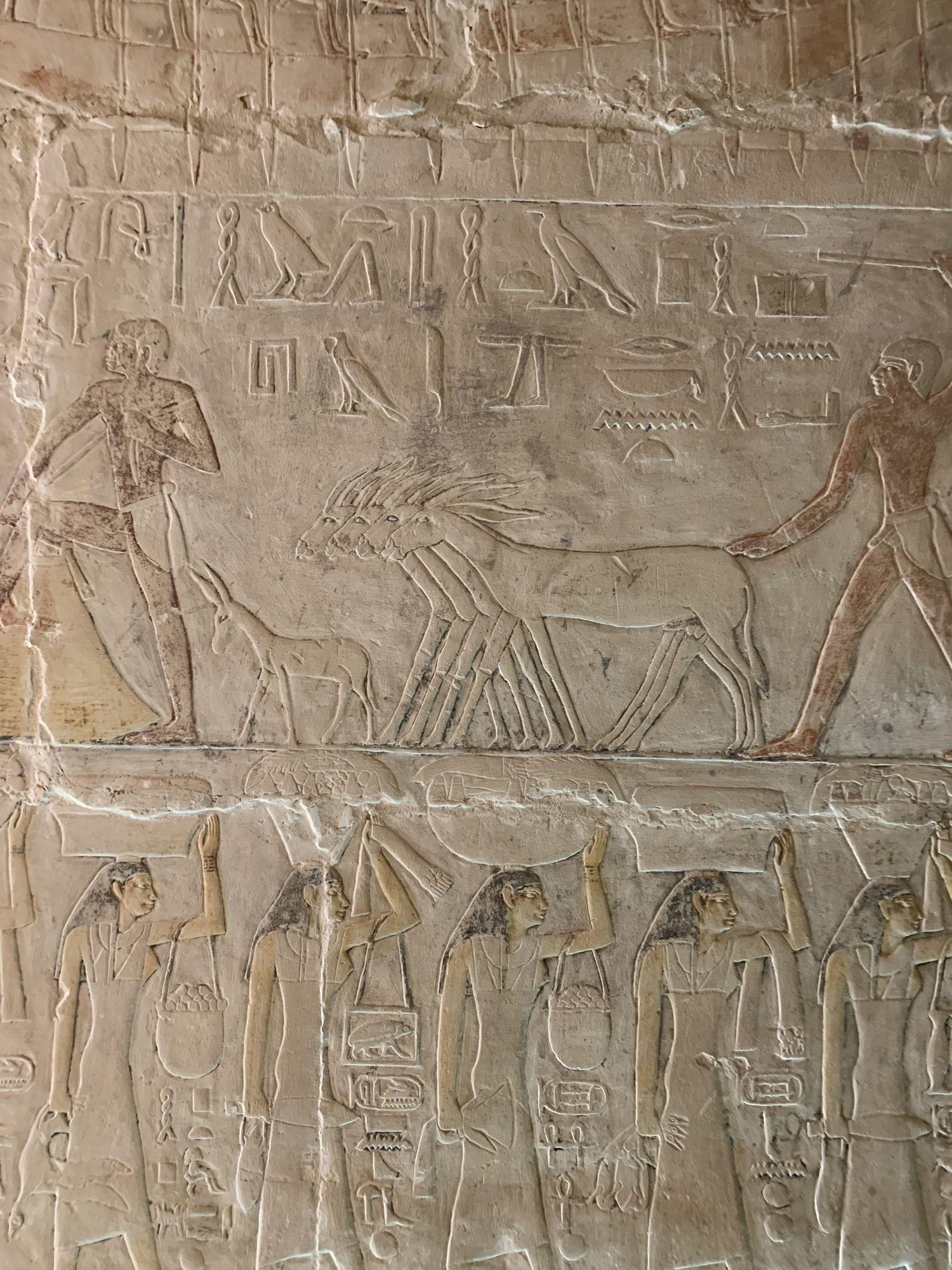 Antiguo Egipto - Necrópolis de Saqqara - Egiptología