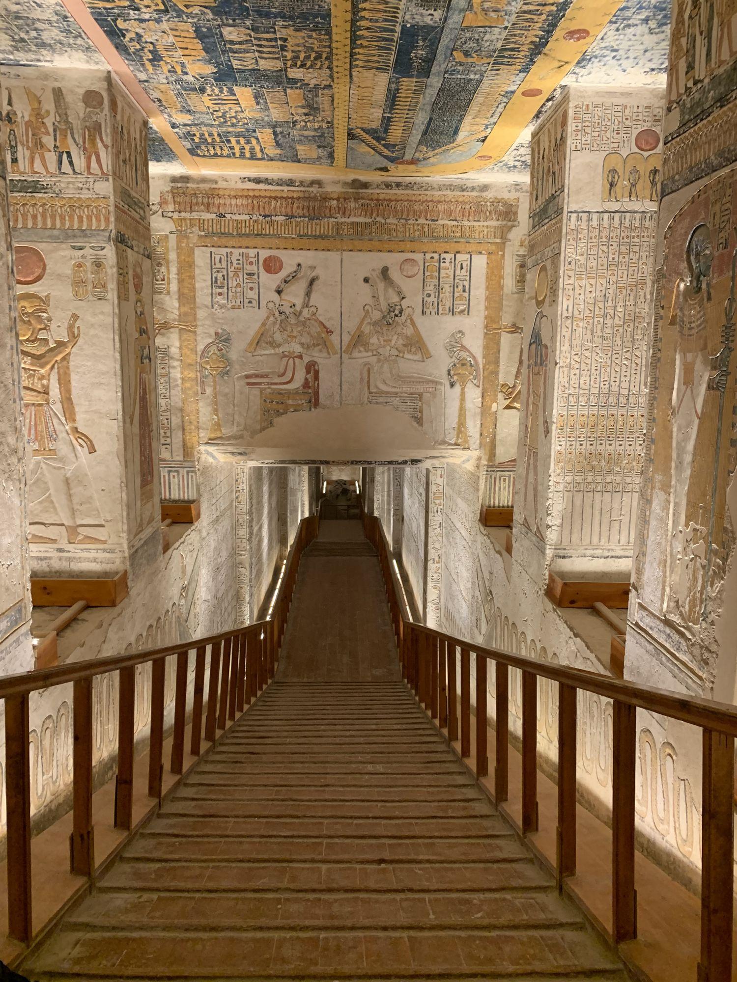 Antiguo Egipto - Valle de los Reyes - Egiptología