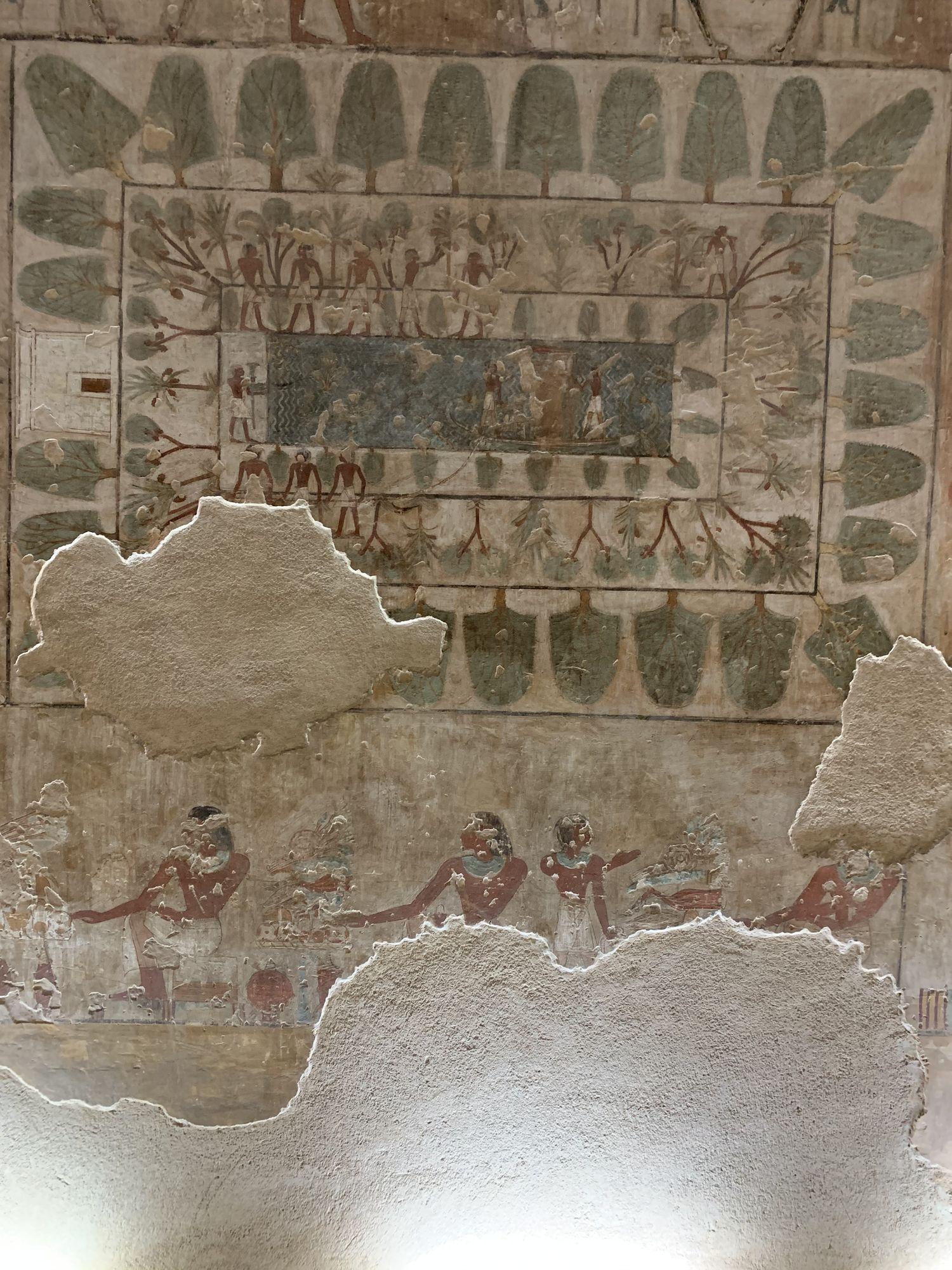 Antiguo Egipto - Valle de los Nobles - Egiptología